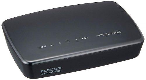 第15位 エレコム(ELECOM) 無線LAN中継機 WRC-300FEBK-R