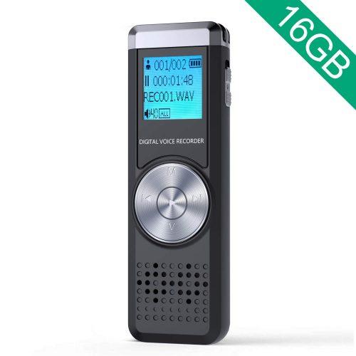 JOOMFEEN 16GB大容量 ボイスレコーダー