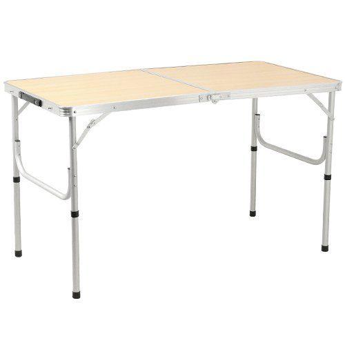 クイックキャンプ(QUICKCAMP) 折りたたみ テーブル AL2FT-120