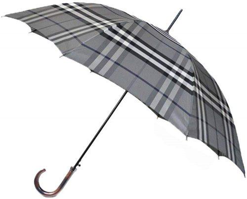 バーバリー(BURBERRY ) ノバチェック 紳士ジャンプ 雨傘