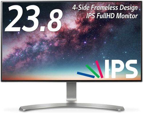 LGエレクトロニクス(LG Electronics) モニター ディスプレイ 23.8インチ 24MP88HV-S