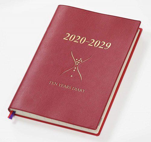 石原出版社 石原10年日記 ワインレッド N102002