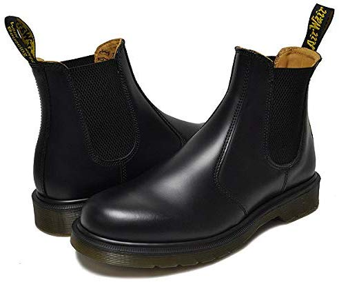 ドクターマーチン(Dr.Martens) 2976 CHELSEA BOOT BLACK SMOOTH