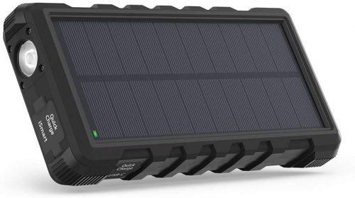 ラブパワー(RAVPower) ソーラーモバイルバッテリー 25000mAh RP-PB083