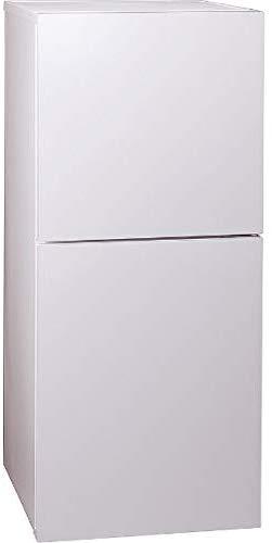 ツインバード工業(TWINBIRD) 2ドア冷凍冷蔵庫 ハーフ&ハーフ HRE915PW