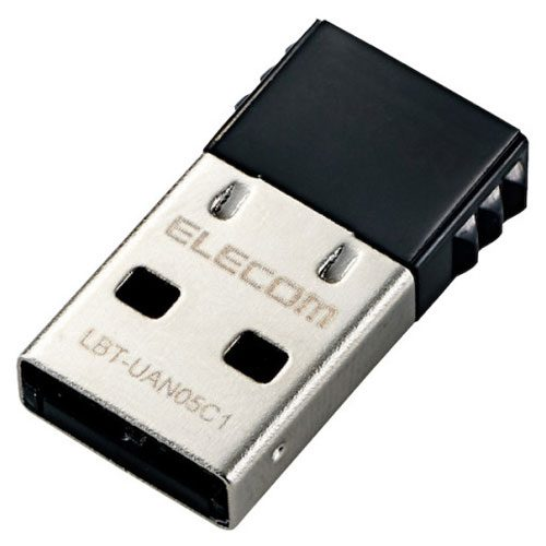 エレコム(ELECOM) Bluetoothアダプタ LBT-UAN05C1