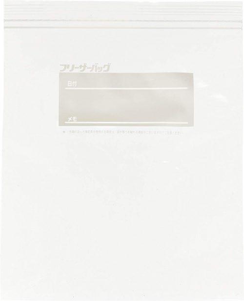 大日産業(DAINICHI SANGYO) たっぷり冷凍保存フリーザーバッグ
