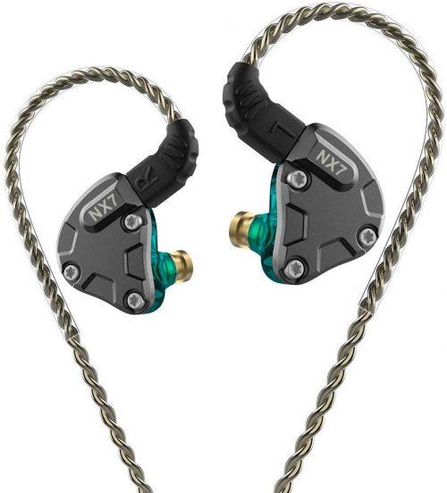 エイチシーケーイヤホン(HCK Earphones) カナル型イヤホン NICEHCK NX7