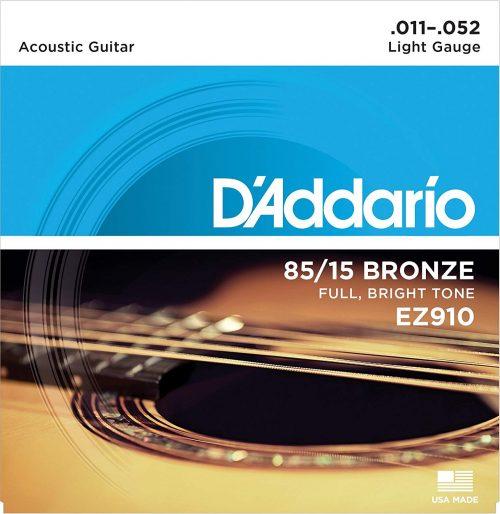 ダダリオ(D'Addario) アコースティックギター弦 85/15アメリカンブロンズ