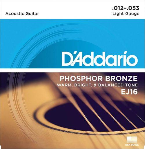 ダダリオ(D'Addario) アコースティックギター弦 フォスファーブロンズ