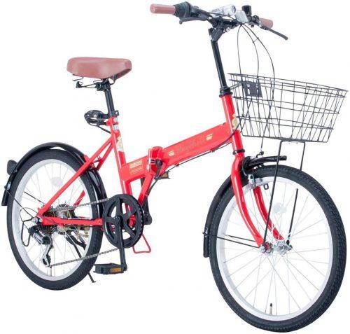 レイチェル(Raychell) 20インチ 折りたた 自転車 FB-206R