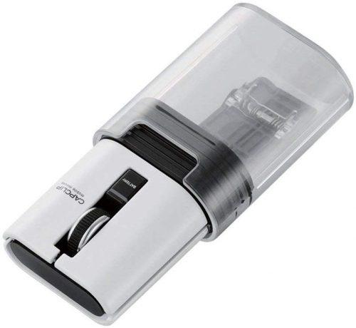 エレコム(ELECOM) Bluetooth(R)ワイヤレスマウス CAPCLIP M-CC1BR