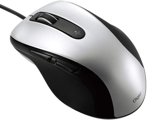 ナカバヤシ(Nakabayashi) 有線静音5ボタンBlueLEDマウス MUS-UKF108SL