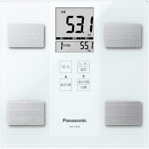 パナソニック(Panasonic) 体組成計(ホワイト)EW-FA24-W