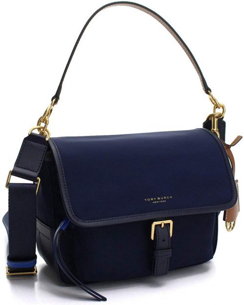トリーバーチ(TORY BURCH) PERRY NYLON COLOR-BLOCK CROSS-BODY