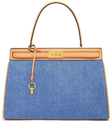トリーバーチ(TORY BURCH) LEE RADZIWILL LARGE DENIM SATCHEL