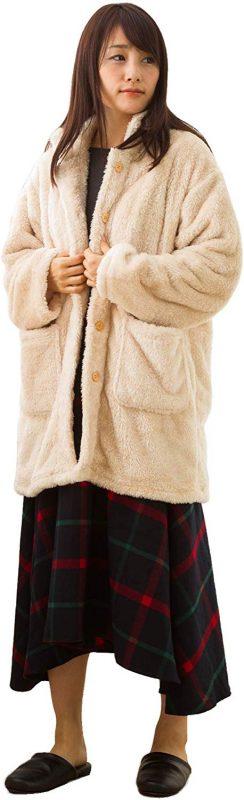 西川(Nishikawa) セブンデイズ あったかガウン 着る毛布