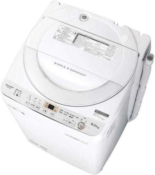 シャープ(SHARP) 全自動洗濯機 ES-GE6C