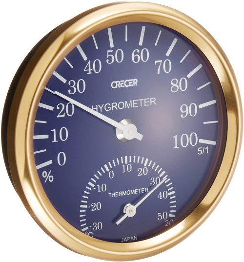 クレセル 温湿度計 CR-101B