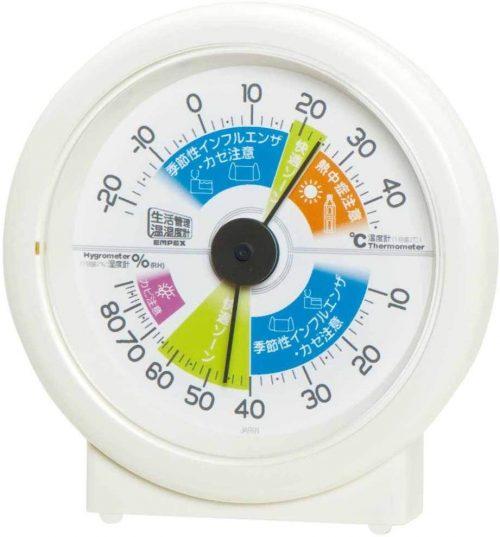 エンペックス気象計 生活管理温湿度計 M-2870