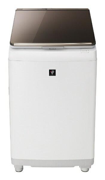 シャープ(SHARP) タテ型洗濯乾燥機 ESPT10D