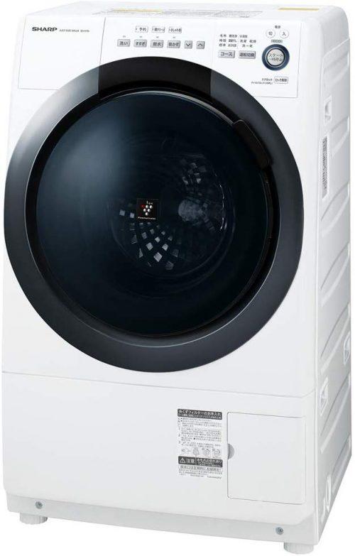 シャープ(SHARP) ドラム式洗濯乾燥機 7kg ES-S7D