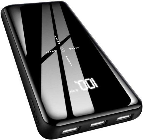 Gnceei Qi ワイヤレス充電器 モバイルバッテリー 25000mAh