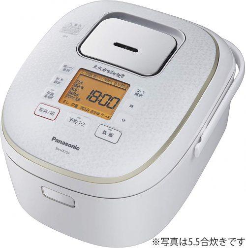 パナソニック(Panasonic) 炊飯器 1升 IH式 大火力おどり炊き SR-HX189