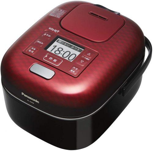 パナソニック(Panasonic) 炊飯器 3合 可変圧力IH式 おどり炊き SR-JX058