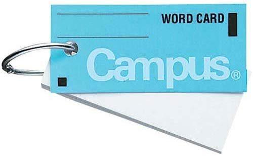 コクヨ キャンパス単語カード中 タン-101B