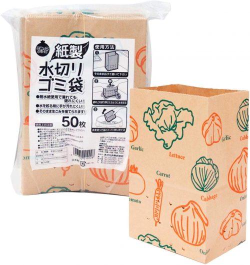 ネクスタ(Nexta) 紙製水切りゴミ袋