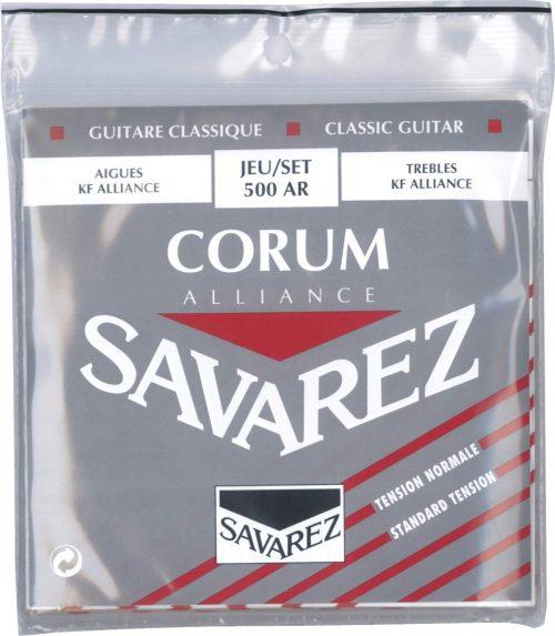 サバレス(SAVAREZ)クラシックギター弦 500AR