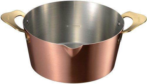 オークス ameiro 両手鍋 COS8005 18cm