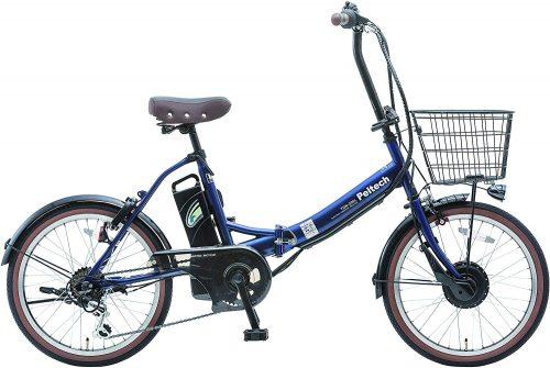 ペルテック(PELTECH) 折りたたみ電動アシスト自転車 TDN-206