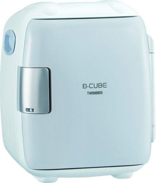 ツインバード工業(TWINBIRD) 2電源式コンパクト電子保冷保温ボックス D-CUBE S HR-DB06GY