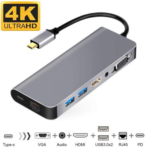 WU-MINGLU 7in1 USB Type-Cハブ