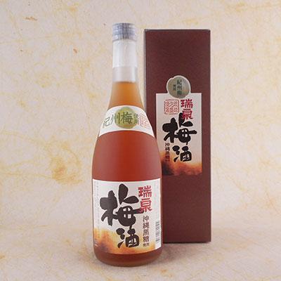 瑞泉酒造 沖縄黒糖入梅酒