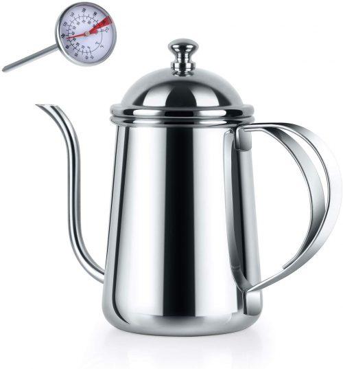 Love-KANKEI コーヒーポット  650ml 温度計付き