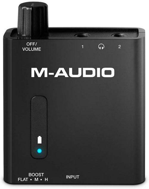 エムオーディオ(M-Audio) ポータブルヘッドホンアンプ Bass Traveler