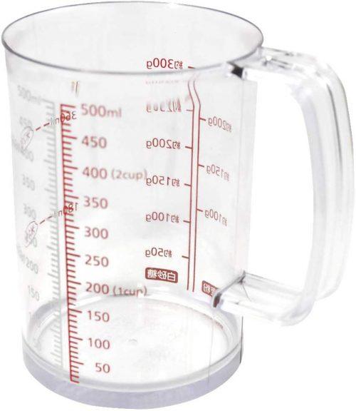 貝印 耐熱計量カップ 500ml DH7121