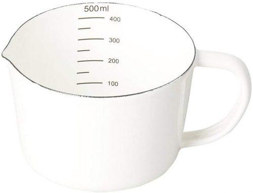 パール金属(PEARL METAL) 計量カップ 500ml ホーロー ブランキッチン HB-3682