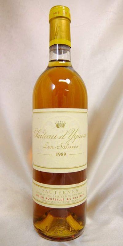 シャトー・ディケム(Chateau d'Yquem) シャトー・ディケム 1989