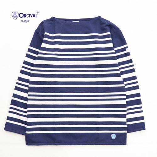 オーシバル(ORCIVAL) ラッセルフレンチセーラーTシャツ 6101