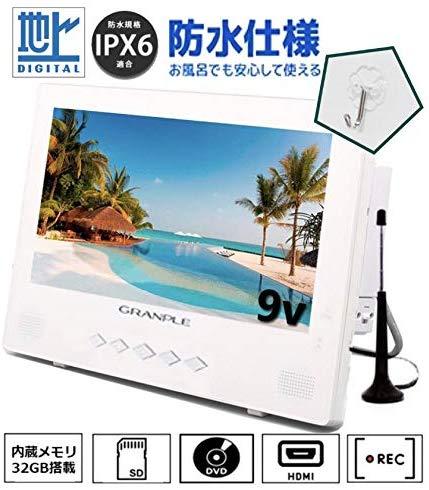 stayergranple 32GBメモリ 内蔵ポータブルDVDプレーヤー gt932w