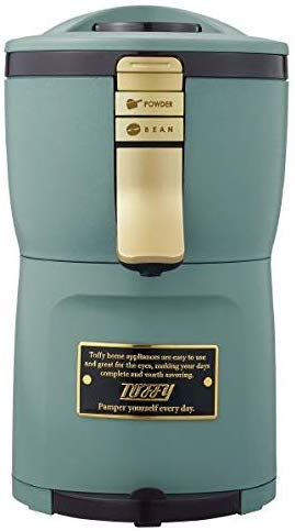 ラドンナ(LADONNA) Toffy 全自動ミル付アロマコーヒーメーカー K-CM7