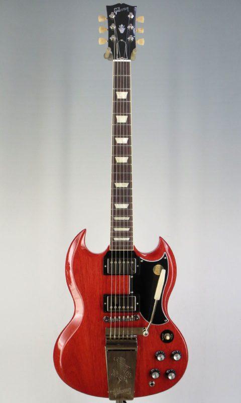 ギブソン(GIBSON) SG Standard 61 Maestro Vibrola Vintage Cherry