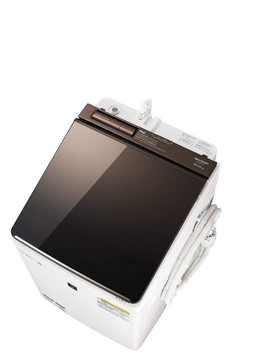 シャープ(SHARP) タテ型洗濯乾燥機 ES-PU10C-T