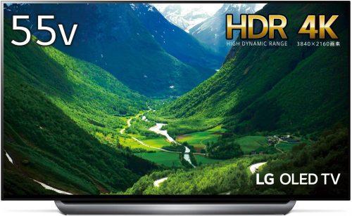 LGエレクトロニクス(LG Electronics) 有機ELテレビ OLED55C8PJA