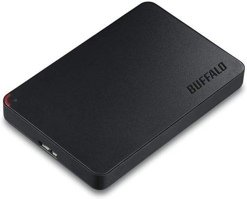 バッファロー(BUFFALO) 外付けポータブルHDD HD-NRPCF1.0-BB