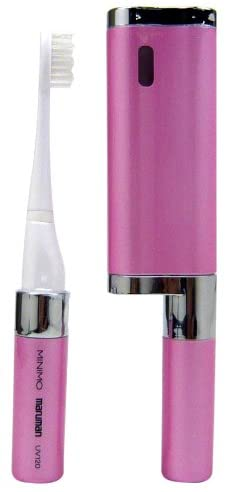 マルマン UV殺菌機一体型 音波振動歯ブラシMINIMO MP-UV120